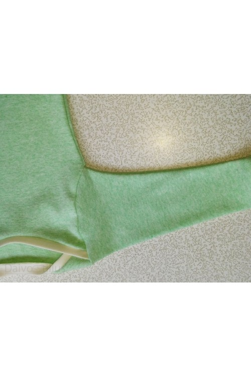Bodis kūdikiui žalios spalvos