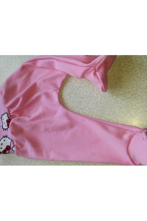 Kelnytės  kūdikiui šviesiai rožinės spalvos (katės)